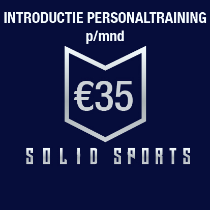 INTRODUCTIE PERSONALTRAINING